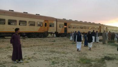 صورة 24 مصابا بينهم مجندون في انقلاب قطار بخط الإسكندرية مطروح