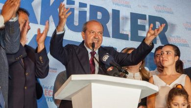 صورة رئيس قبرص التركية المنتخب: سأكون رئيسا للجميع