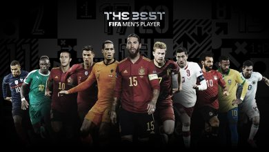 صورة الفيفا تعلن أسماء المرشحين لجائزة أفضل لاعب في 2020