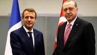 ماكرون يوجه رسالة ودية لأردوغان يستهلها باللغة التركية