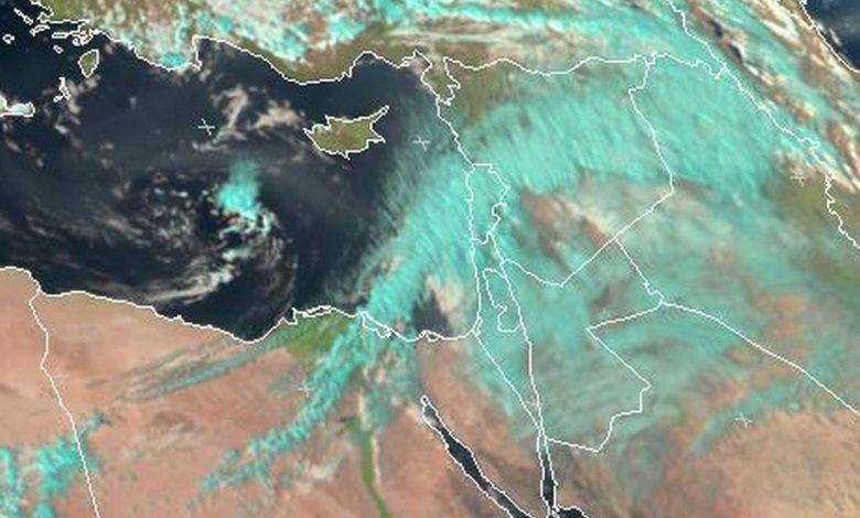 منخفض جوي يضرب مصر مجددا ذروته يوم الثلاثاء القادم