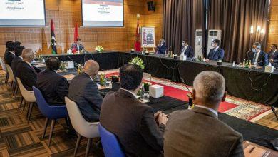 صورة وصول وفدي الحوار الليبي استعداداً لانطلاق جولة الحوار الثانية بالمغرب